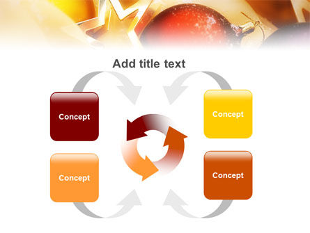 New Year Decorations PowerPoint Template Slide 6