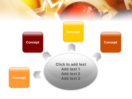 New Year Decorations PowerPoint Template Slide 7