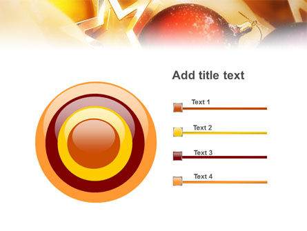 New Year Decorations PowerPoint Template Slide 9
