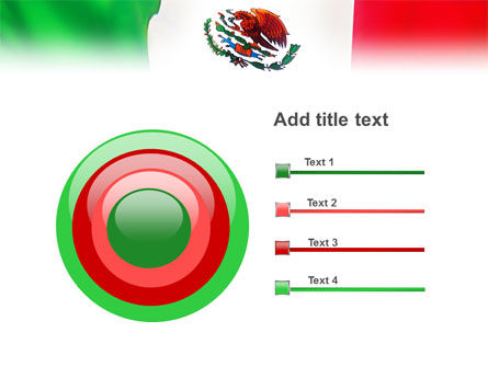 Mexican Flag PowerPoint Template Slide 9