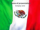 Flags/International: Mexicaanse Vlag PowerPoint Template #01716