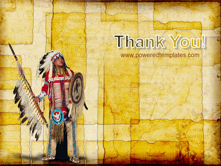 American Indian PowerPoint Template Slide 20