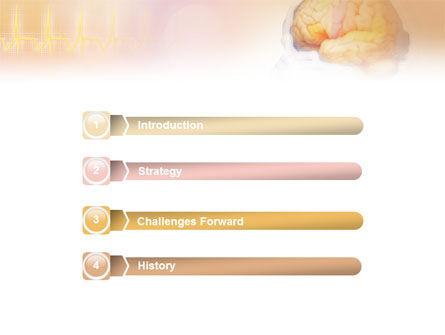 Brain In Pink Colors PowerPoint Template, Slide 3, 01721, Medical — PoweredTemplate.com