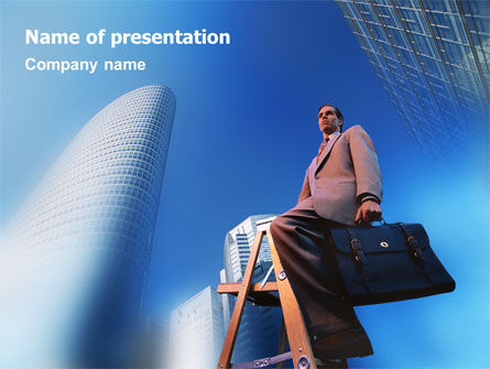Business Concepts: Professional Career PowerPoint Template #01722