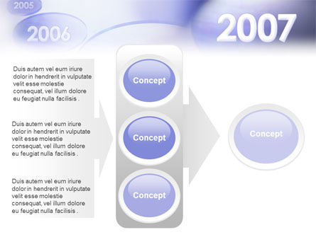 Year 2007 PowerPoint Template Slide 11