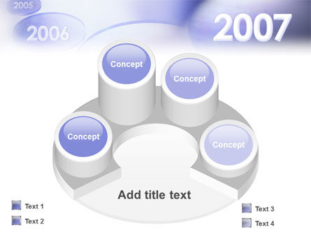Year 2007 PowerPoint Template Slide 12