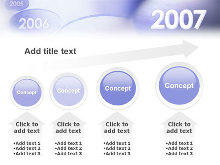 Year 2007 PowerPoint Template Slide 13