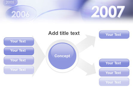 Year 2007 PowerPoint Template Slide 14