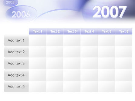 Year 2007 PowerPoint Template Slide 15