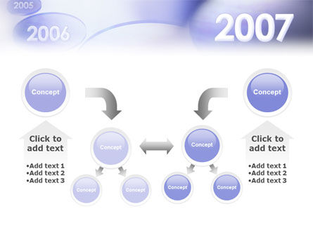 Year 2007 PowerPoint Template Slide 19