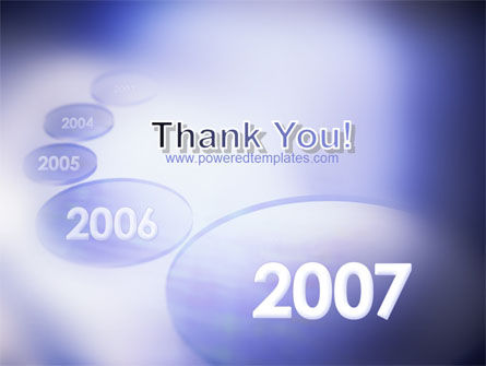 Year 2007 PowerPoint Template Slide 20