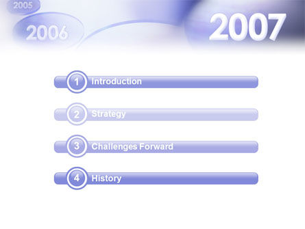 Year 2007 PowerPoint Template Slide 3