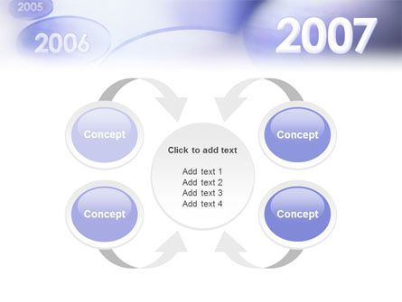 Year 2007 PowerPoint Template Slide 6