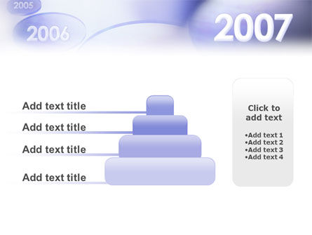Year 2007 PowerPoint Template Slide 8