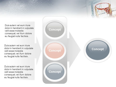 Basketball Game PowerPoint Template Slide 11