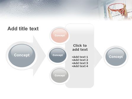 Basketball Game PowerPoint Template Slide 17