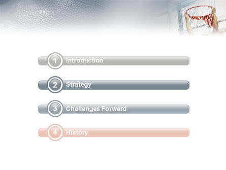 Basketball Game PowerPoint Template Slide 3
