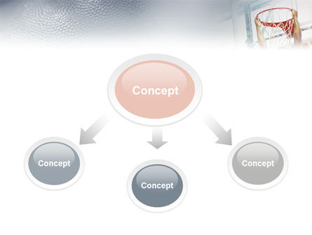 Basketball Game PowerPoint Template Slide 4