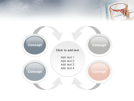 Basketball Game PowerPoint Template Slide 6