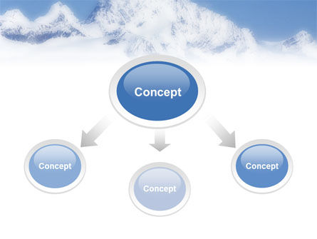 Skiing in Alps PowerPoint Template Slide 4
