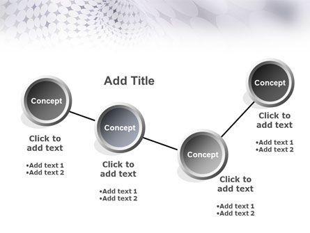 Gray Texture PowerPoint Template Slide 6