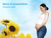 Medical: Maternity PowerPoint Template #01730