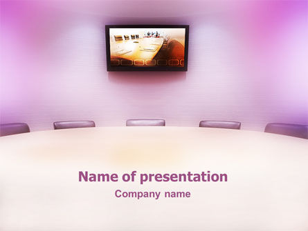 Consulting: Board Meeting PowerPoint Template #01731