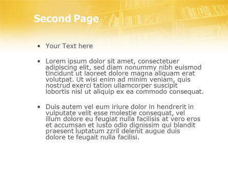 Reading PowerPoint Template Slide 2