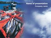 Careers/Industry: 渔业PowerPoint模板 #01733
