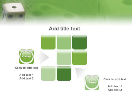 Dice On A Green Cloth PowerPoint Template Slide 16