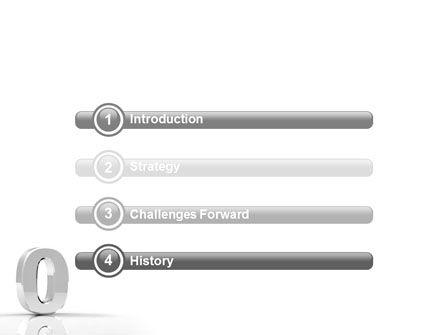 3D Number PowerPoint Template, Slide 3, 01737, 3D — PoweredTemplate.com