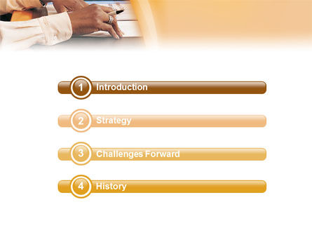 Discussion PowerPoint Template, Slide 3, 01738, Education & Training — PoweredTemplate.com