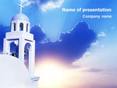 Religious/Spiritual: Belfry PowerPoint Template #01739