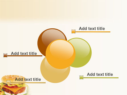 Fast Food PowerPoint Template Slide 10