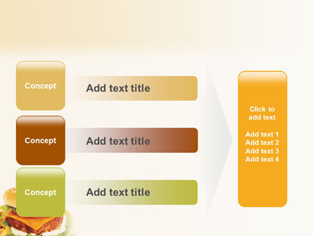 Fast Food PowerPoint Template Slide 12