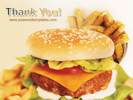 Fast Food PowerPoint Template Slide 20