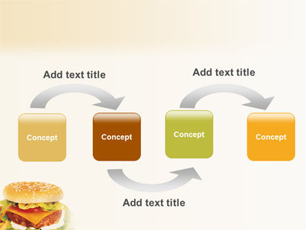 Fast Food PowerPoint Template, Slide 4, 01741, Food & Beverage — PoweredTemplate.com