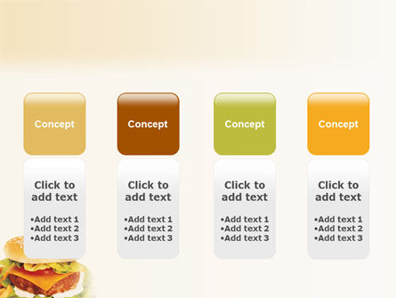 Fast Food PowerPoint Template Slide 5