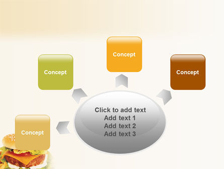 Fast Food PowerPoint Template Slide 7