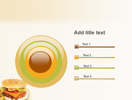 Fast Food PowerPoint Template Slide 9