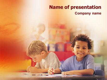 Basic Education PowerPoint Template, 01743, Education & Training — PoweredTemplate.com