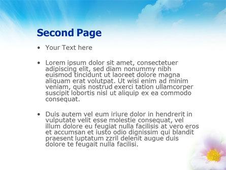 Bloom PowerPoint Template, Slide 2, 01746, Nature & Environment — PoweredTemplate.com