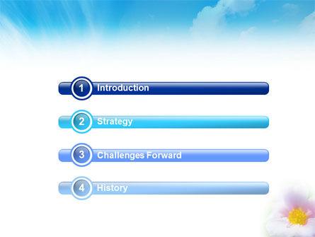 Bloom PowerPoint Template, Slide 3, 01746, Nature & Environment — PoweredTemplate.com