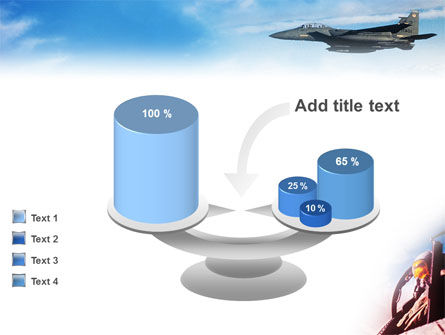 Fighter Aircraft PowerPoint Template Slide 10