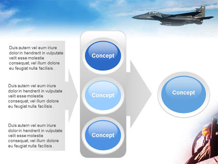 Fighter Aircraft PowerPoint Template Slide 11