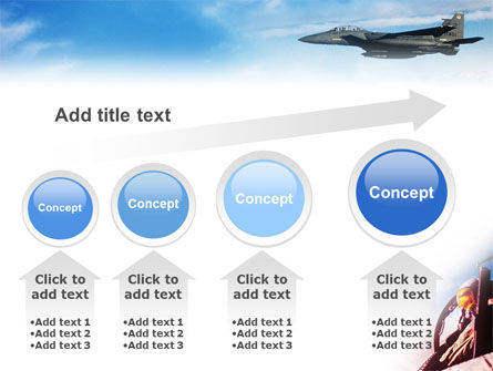 Fighter Aircraft PowerPoint Template Slide 13