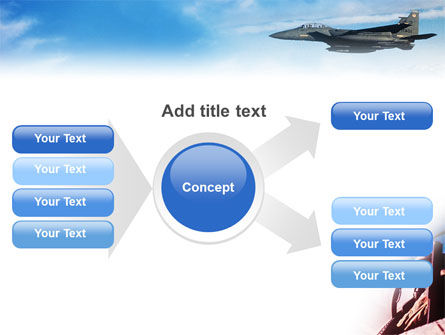 Fighter Aircraft PowerPoint Template Slide 14