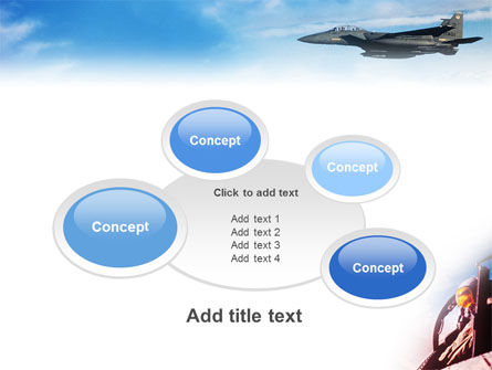 Fighter Aircraft PowerPoint Template Slide 16