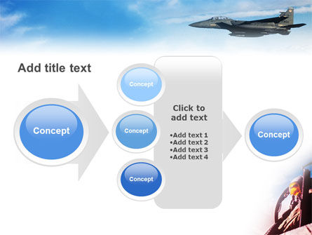Fighter Aircraft PowerPoint Template Slide 17