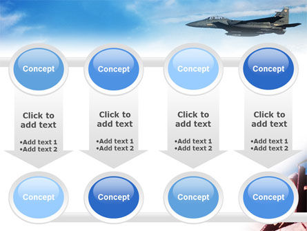 Fighter Aircraft PowerPoint Template Slide 18
